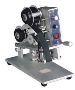 เครื่องพิมพ์วันที่รุ่น DY-8 แบบใช้มือกด