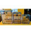 กล่องแพ็คข้าวสาร อคิลิก ขนาด 0.25 Kg.
