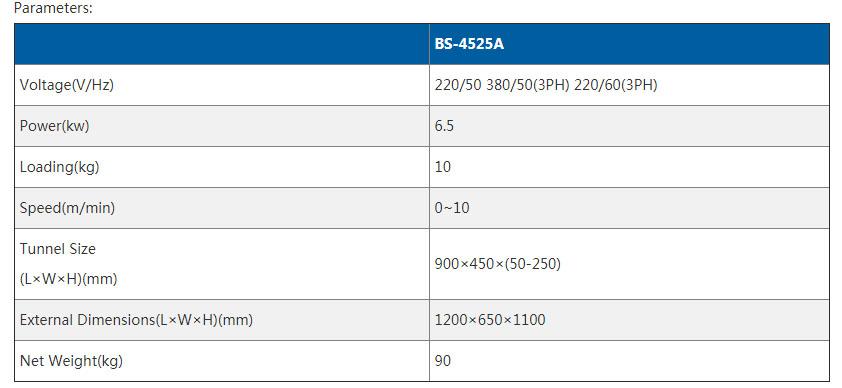 spec BS-4525A